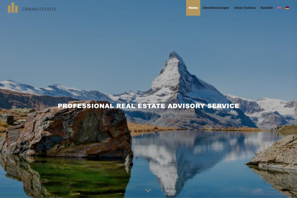 Urban Estates Website